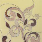 Витраж классического рисунка с пропаяными швами