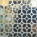 10 Зеркало серебро пескоструйная обработка с 2х сторон