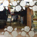 7 Зеркало серебро с пескоструйным рисунком
