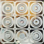 8 Зеркало серебро пескоструйная обработка с 2х сторон
