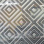 9 Зеркало серебро пескоструйная обработка с 2х сторон