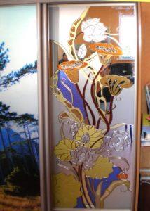 монтаж пленки на стекла