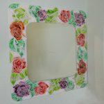 Зеркало Розы, художественная роспись
