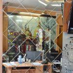Зеркальная мозаика. Панно.Декорирование стен.