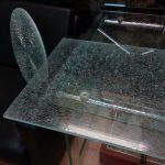 Столешница 4+4+4 мм., каленое стекло в триплексе..
