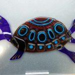 Черепаха 250*180 мм., декор, фьюзинг