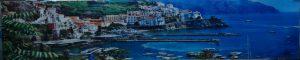 """""""Греция 1"""" Фартук с сольв. печатью (триплекс 4+4) 2805*560мм."""