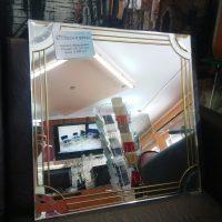Зеркало+бевелсы+протяжка 500-500