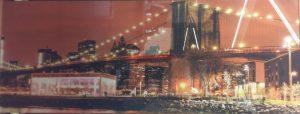 """""""Мост"""" Фартук с сольв. печатью (триплекс 4+4(зеркало)) 1480*553 мм."""