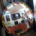 Зеркало с фьюзингом 620 мм. Цена 1500 руб.